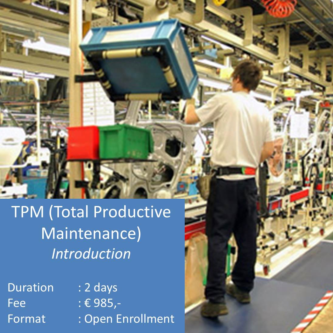 TPM Total Productive Maintenancen Introduction Training